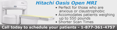 Hitachi Oasis Open MRI