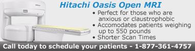 Hitachi Oasis Open MRI