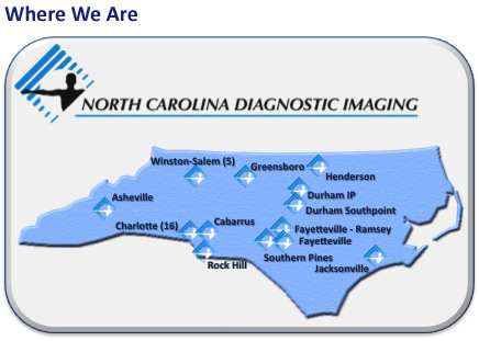 Our Locations - North Carolina Diagnostic Imaging